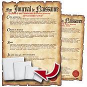 Carrelage personnalis - Faux journal personnalise ...