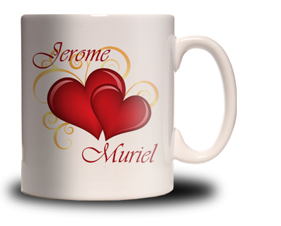 mug saint valentin personnalis cadeau personnalis et id e cadeau original. Black Bedroom Furniture Sets. Home Design Ideas