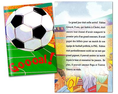 Livre Personnalise Foot Cadeau Personnalise Et Idee Cadeau Original